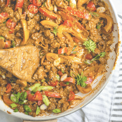 Taco Skillet by Andie Mitchell