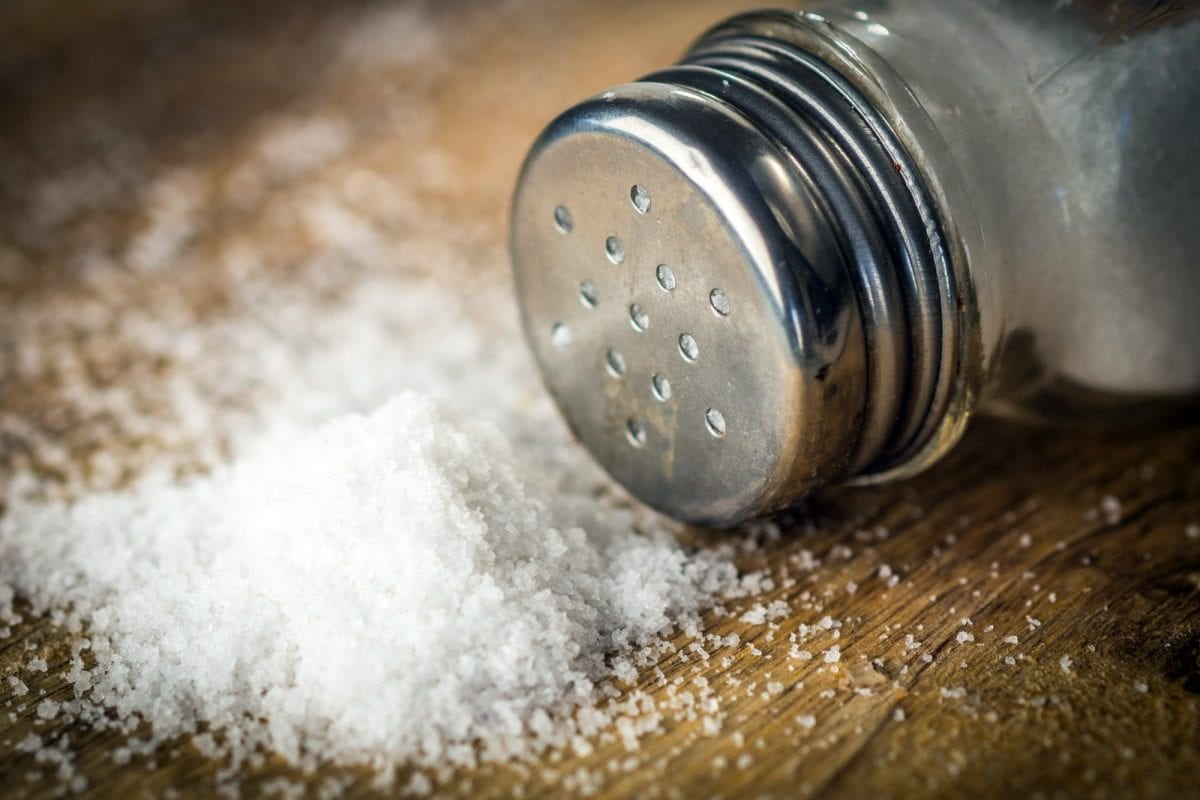 Reduced sodium intake leads to faster weight loss
