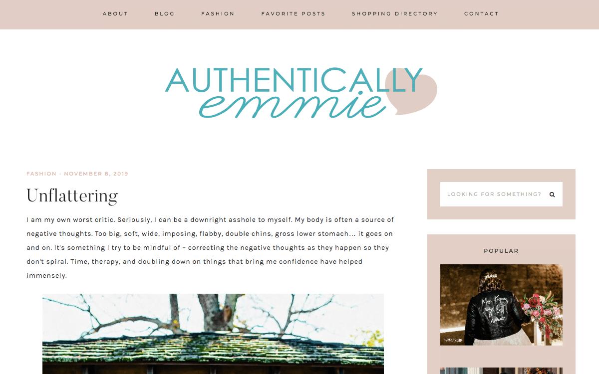 Authentically Emmie