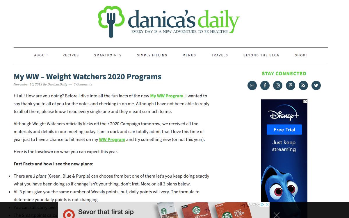 Danicas Daily