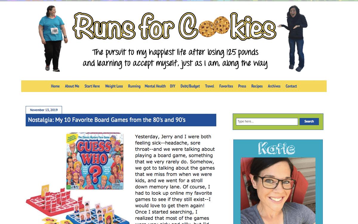 runs for cookies mybiglife blog