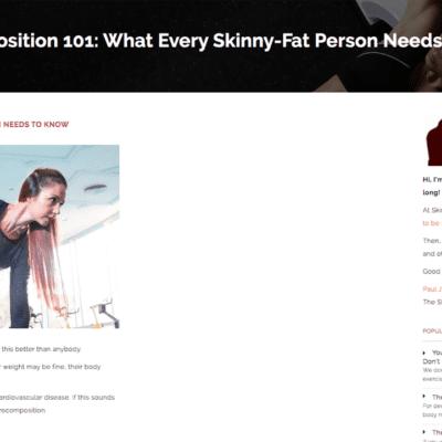 The Skinny Fat Guy