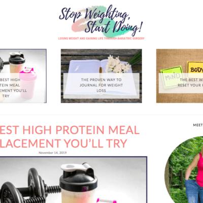 Stop Weighting Start Doing