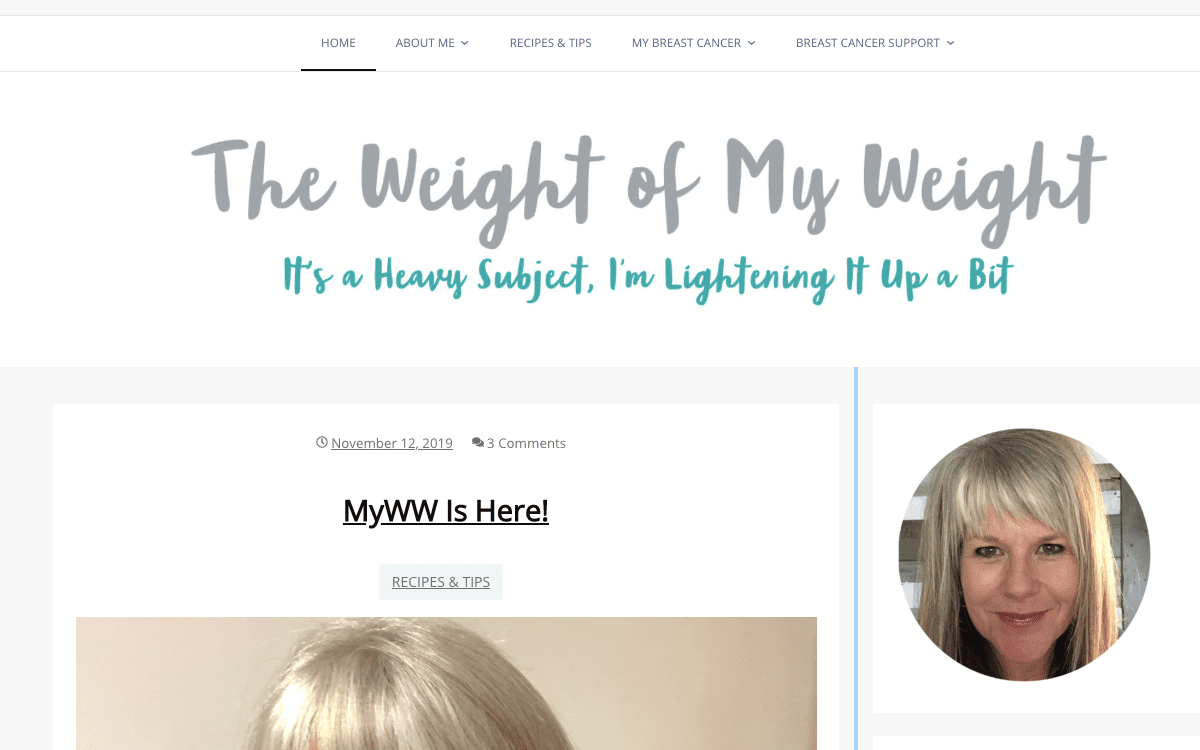 The Weight Of My Weight