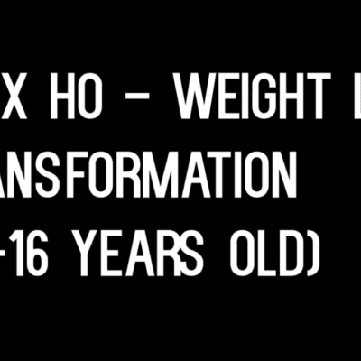 1-2 Year Weight Loss Transformation (15-16) Teenager Alex Ho