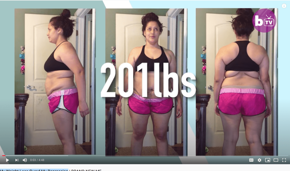 My Weight Loss Cured My Depression   BRAND NEW ME
