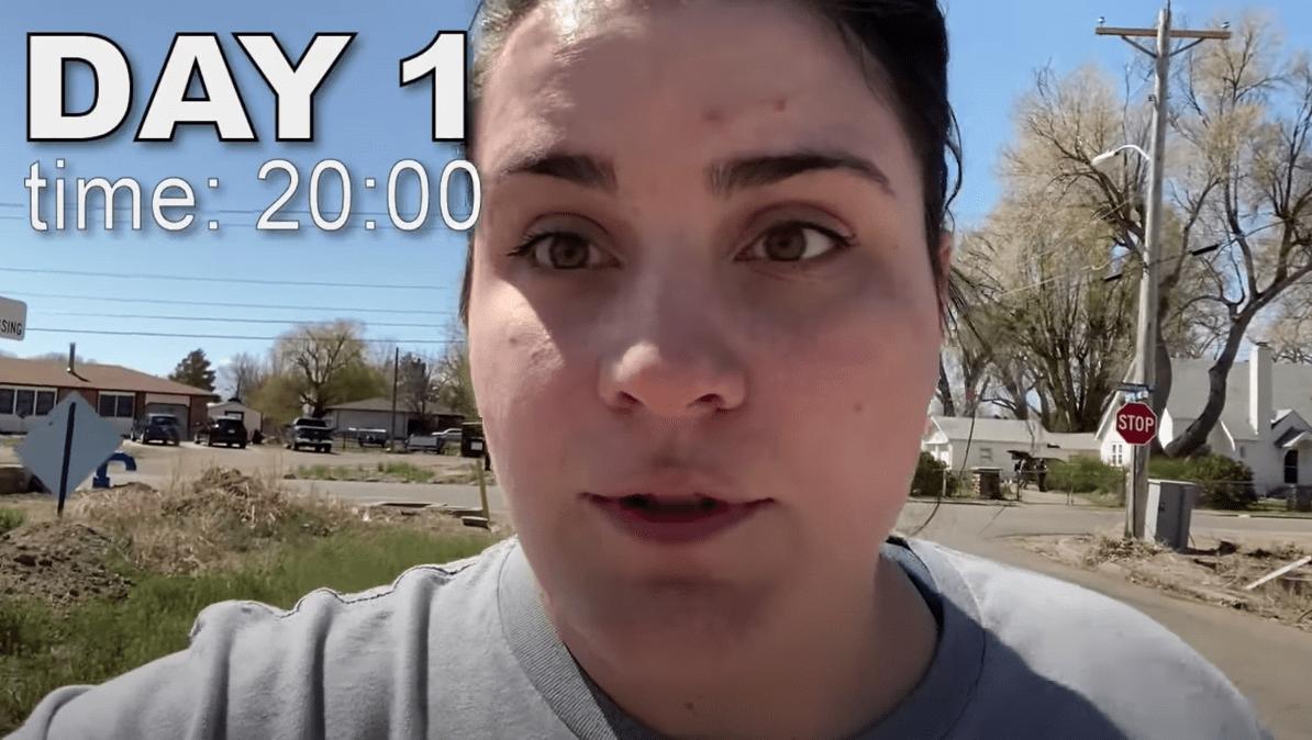 I walked 1 mile everyday