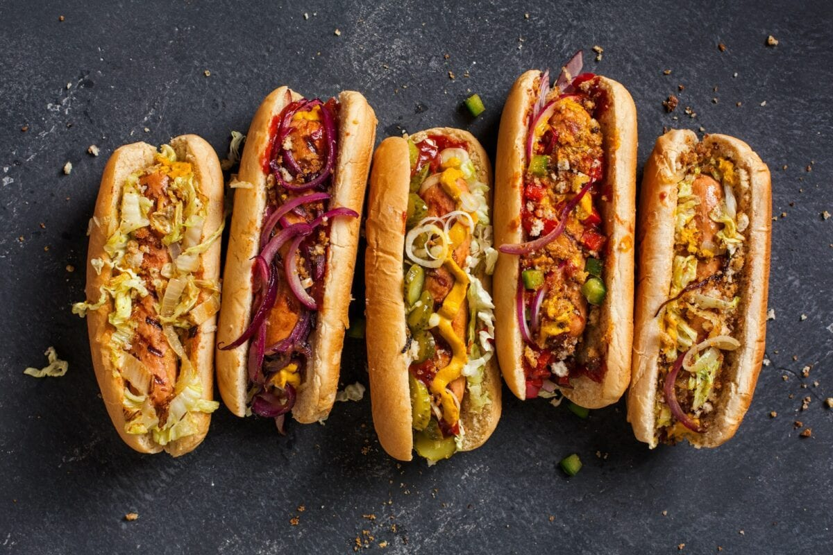 Today is National HOT DOG Day! 10 Nutritious & Delicious Hot Dogs